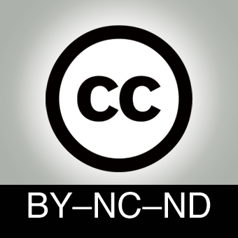 Licence CC BY-NC-ND 2.0
